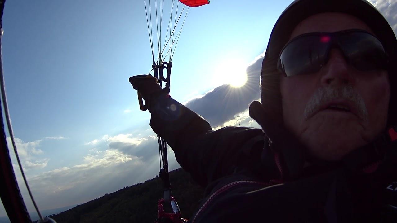 Gleitschirm fliegen am Donnersberg