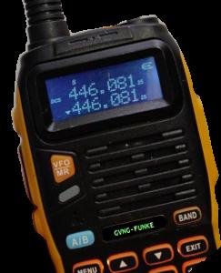 Funkfrequenz 446,08125 MHz