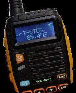 CTCSS-Frequenz 85,4 Hz (Kanal 7)